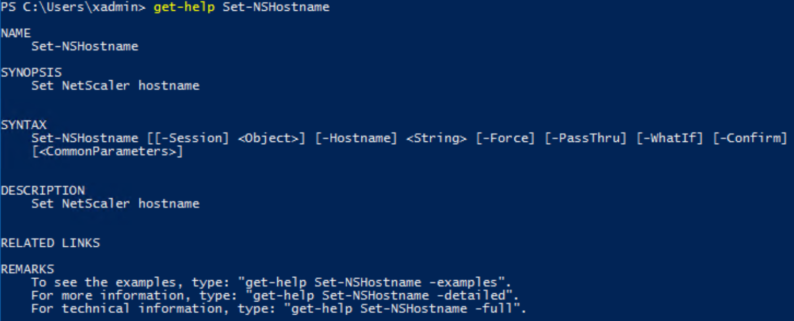 NetScaler Powershell Integration - IT Randomness